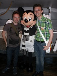 I Met Mickey!